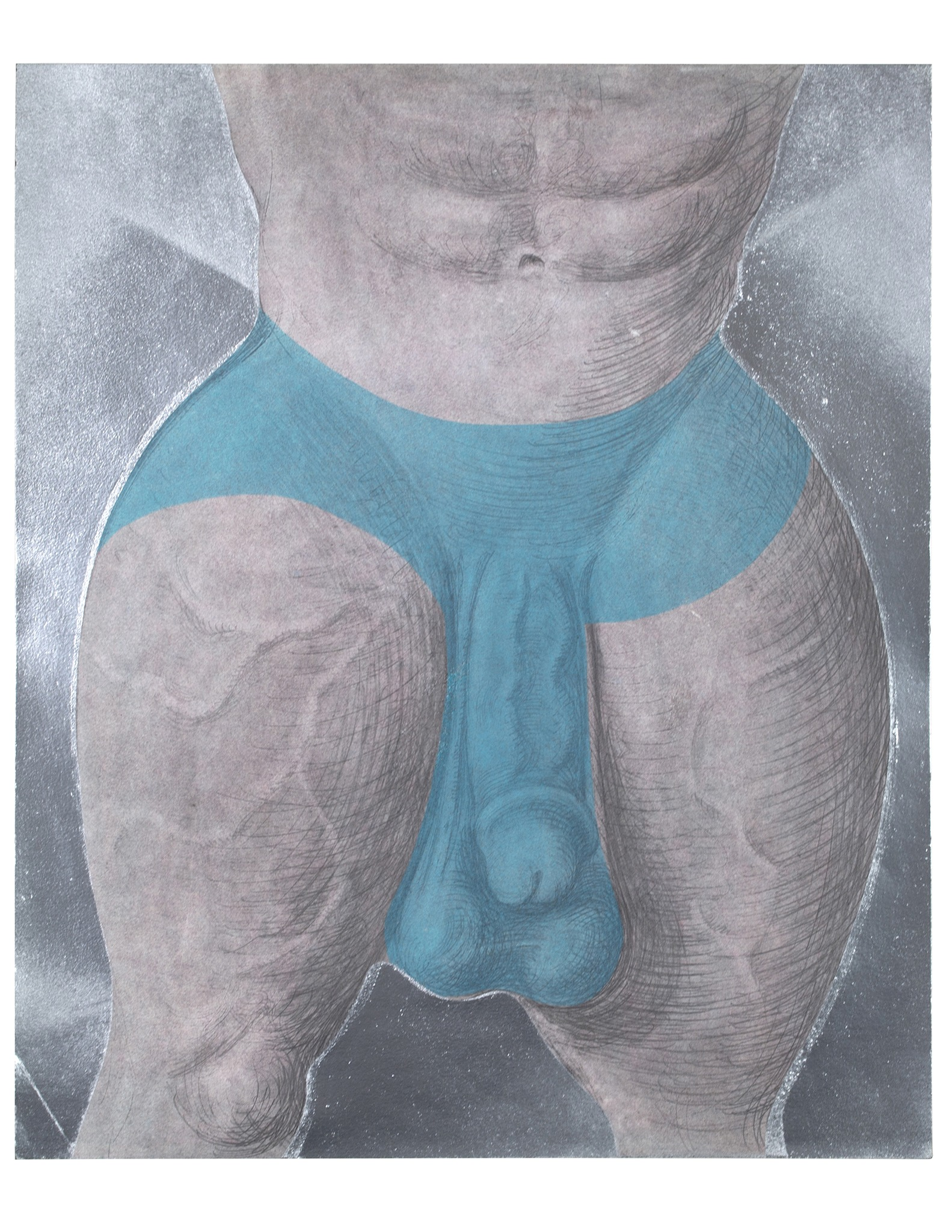 A painting by Mike Goodlett titled Untitled, dated 2020.