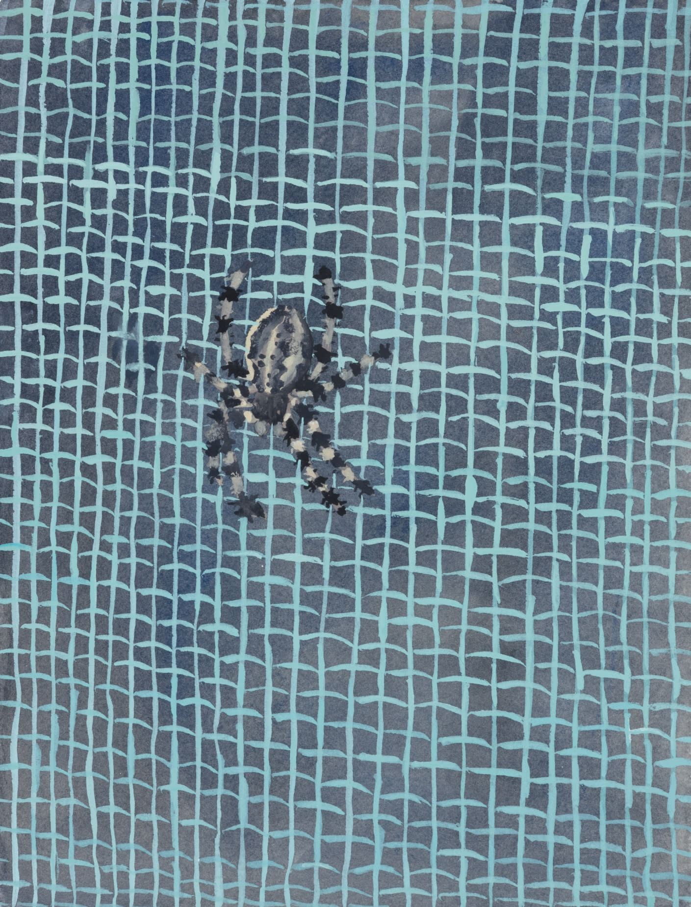 A painting by Claudia Keep titled Untitled (Spider), dated 2020.