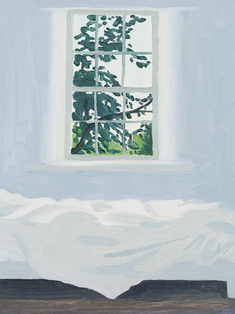 A painting by Claudia Keep titled Very Late Morning, dated 2020.