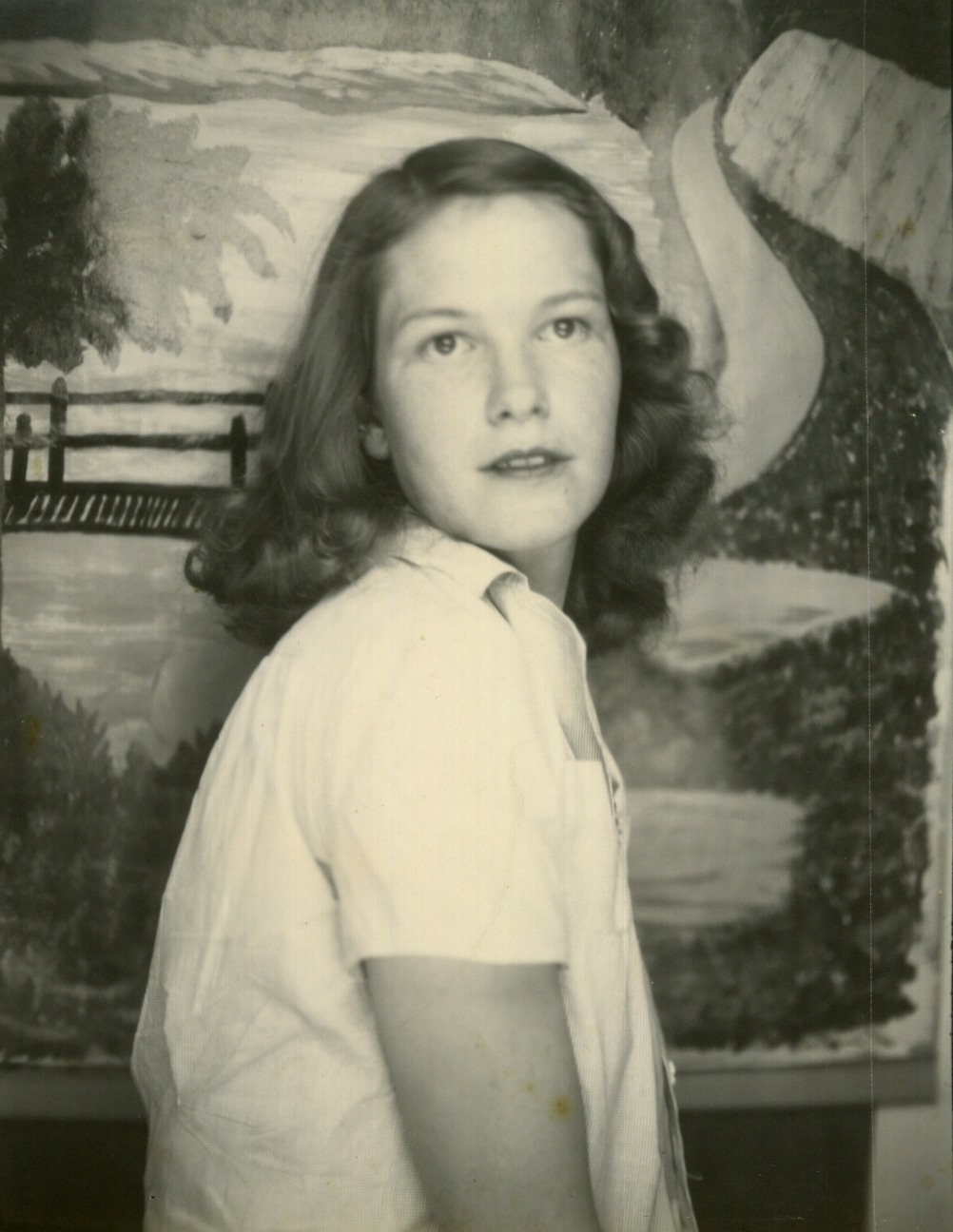 A photograph by Evelyn Massengill titled Evelyn (Self-Portrait),dated c. 1930s.